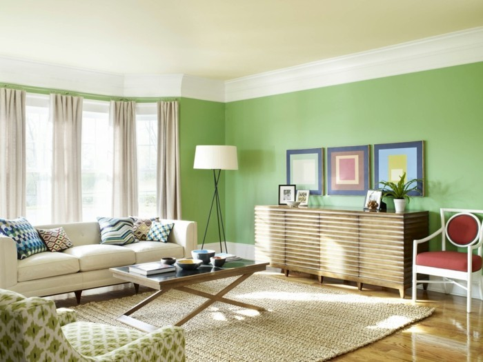 Residential Colors Wall Colors Trends Interior Design Color Greenery Design