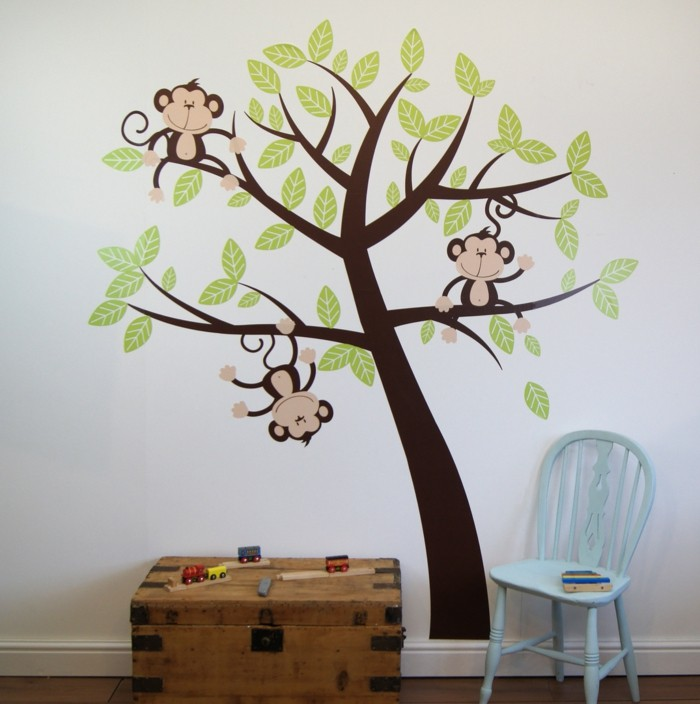 beautiful wall decals nursery decorating ideas tree