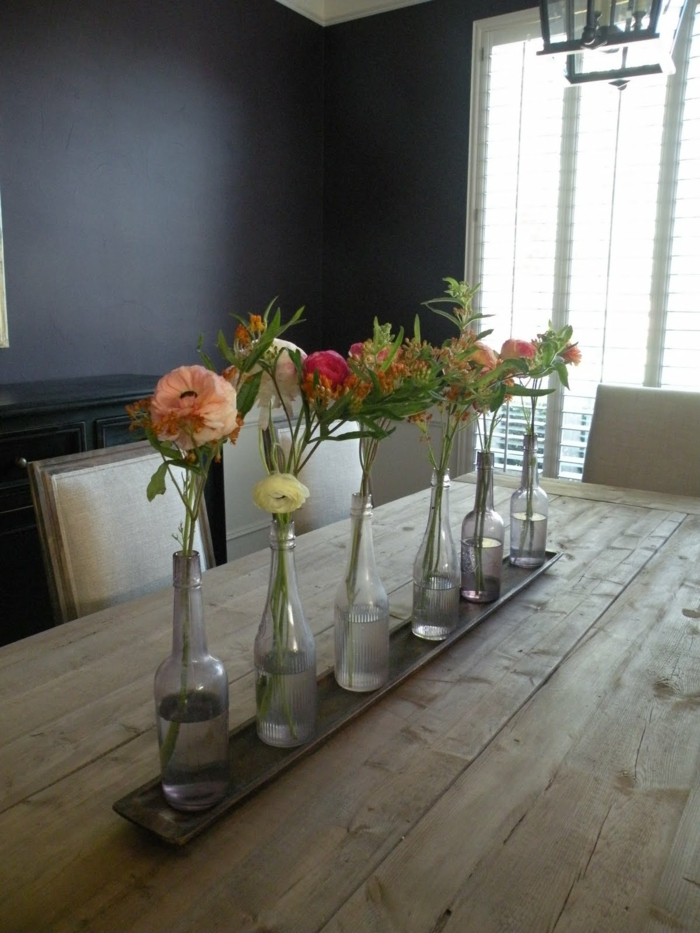 DIY Ideas Bottles Vases Floral Decorating Ideas