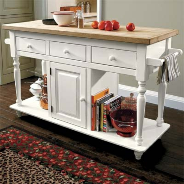 Portable great kitchen islands book drawers