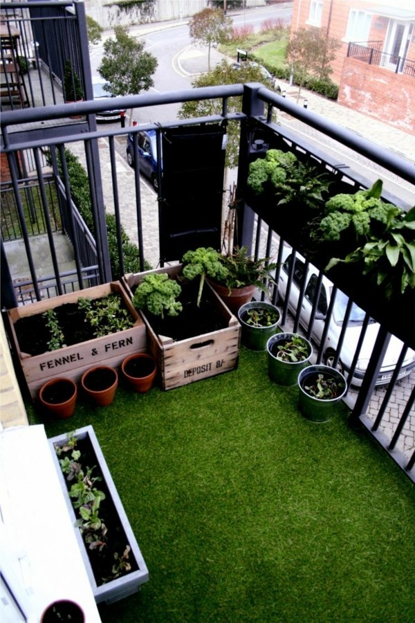 balcony ideas green oasis