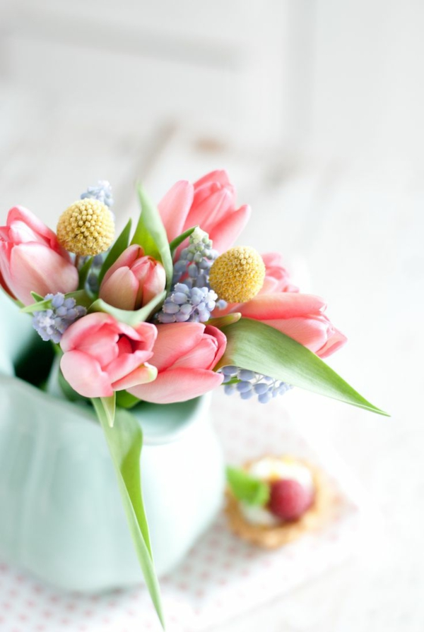 spring flowers bouquet tinker fresh beautiful