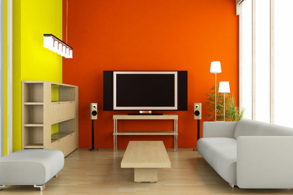 wall colors combinations living room design