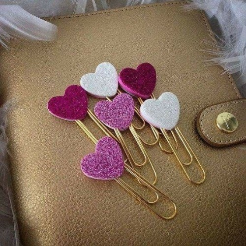 simple craft hearts from fabric