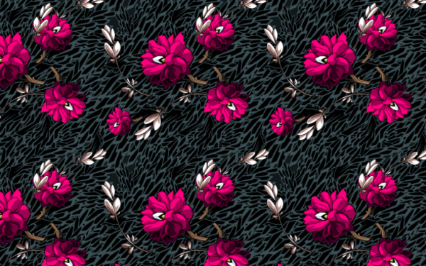 wallpaper pattern flowers crass color