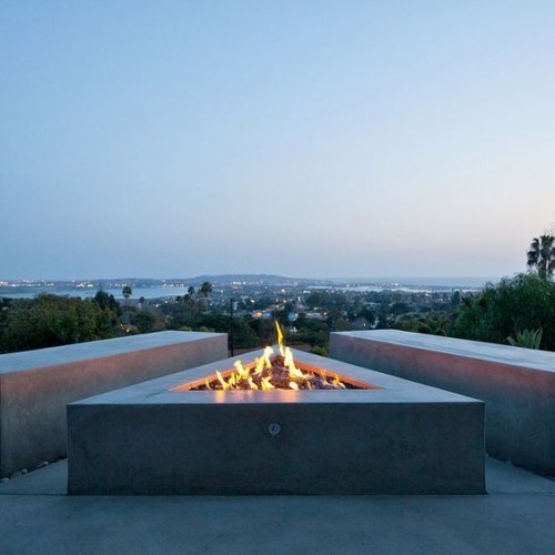 terrace fireplace cool ideas tips