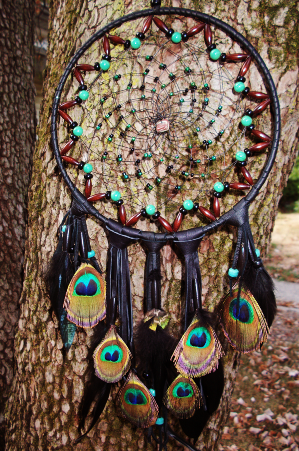 dreamcatcher make your own peacock feathers