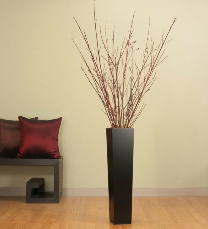 fancy home accessories floor vases living room