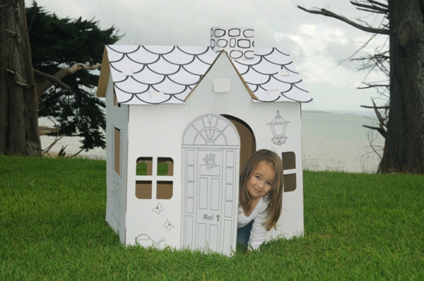 Playhouse for Children Papphuas Ikea Playhouse Cardboard