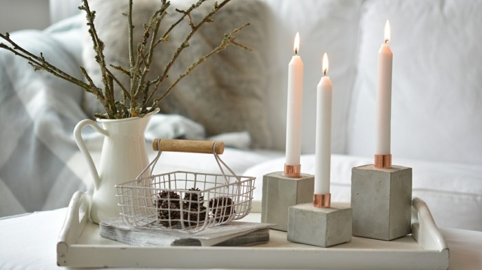 accessories made of concrete decoration