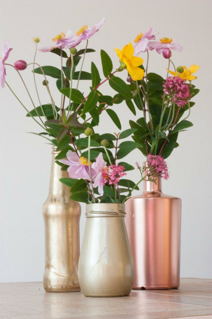 creative home decorating ideas deco jars painting vases