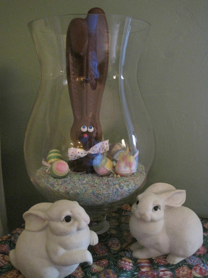 decoration easter easter bunny easter eggs