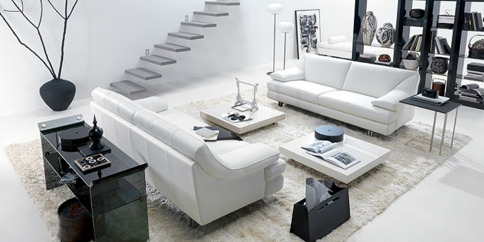 fancy home accessories living room white black floor vase