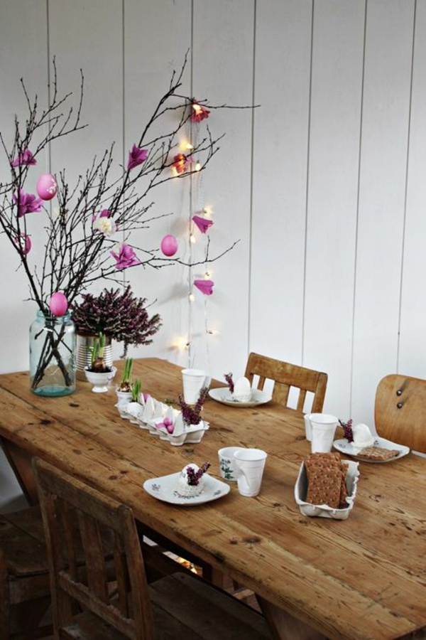 easter decoration tinker yourself table decoration easter easter decoration ideas