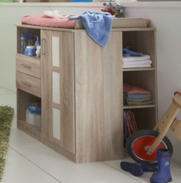 baby room design cabinet shelving drawers