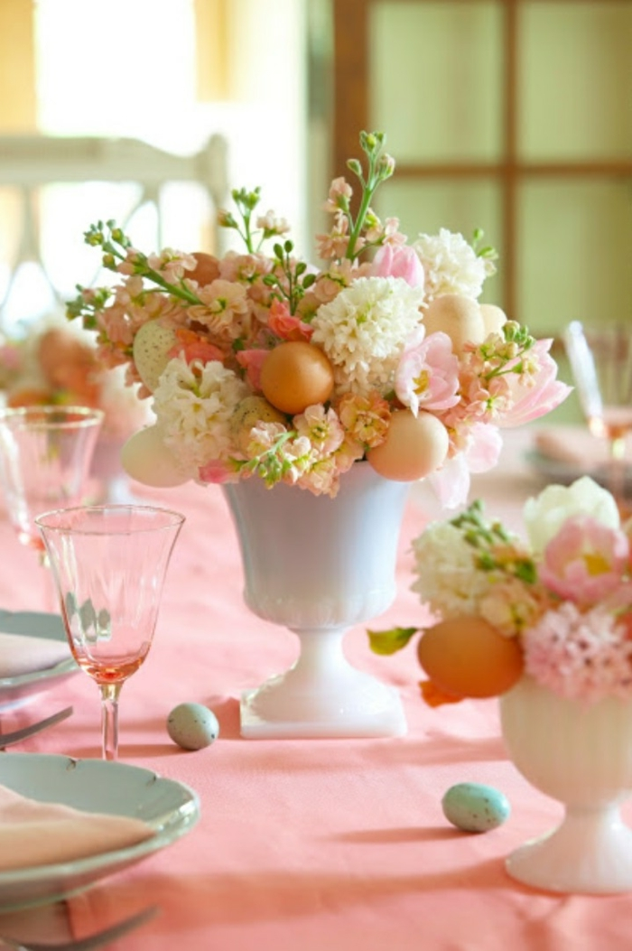 easter decoration deco ideas easter table decoration flowers easter eggs
