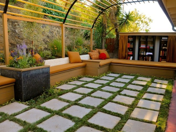 Roofing ideas for the terrace