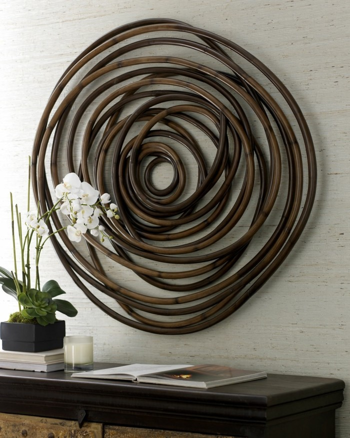 wooden wall deco decoration
