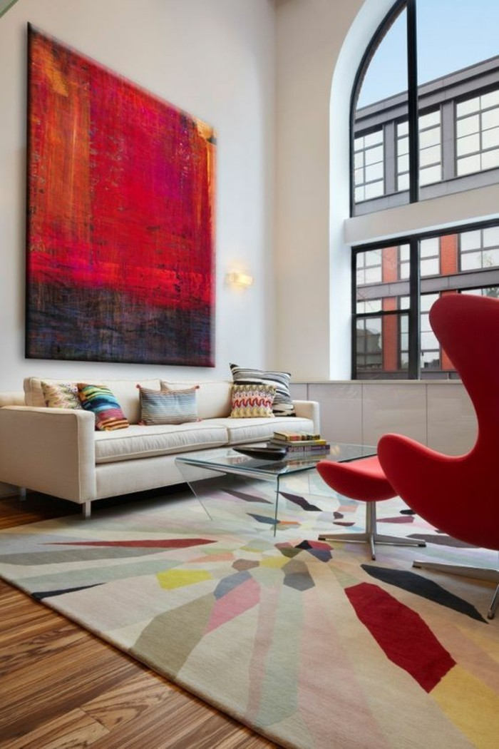 find the most suitable mural for the living room