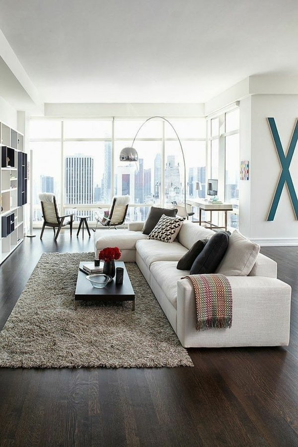 living room sofa white design