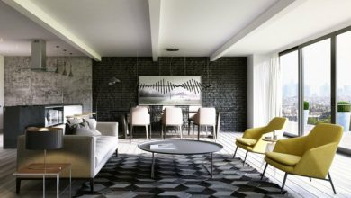 Photo of Design walls – good arguments for the dark wall design
