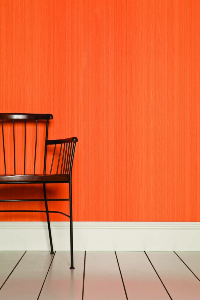 wall colors ideas orange wall paint test farrow ball