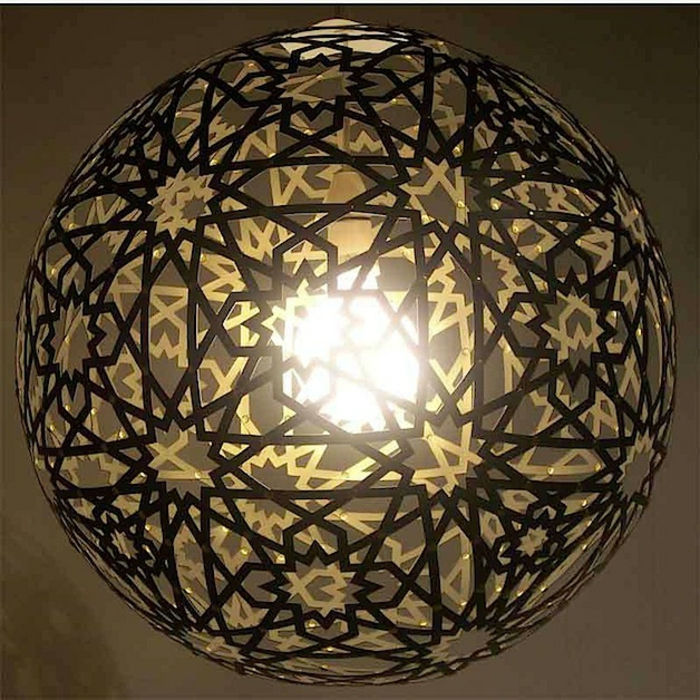 paper lamps hanging lamp round stars sun ornaments