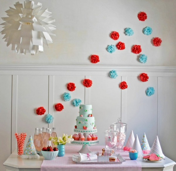 diy chalkboard decorating ideas with paper birthday table