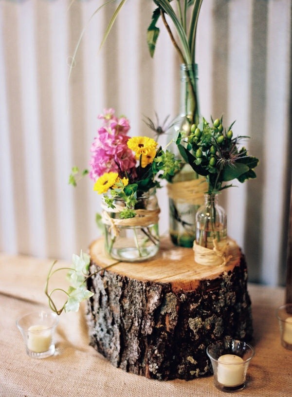 tree trunk decoration diy projects
