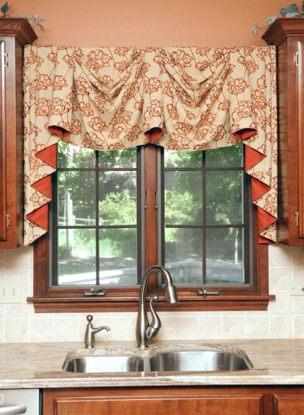 great drapery kitchen curtains
