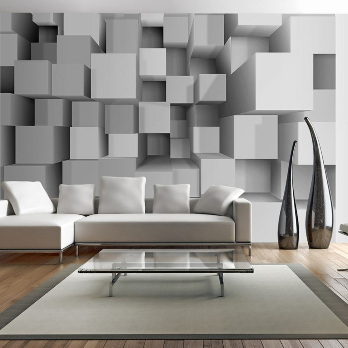 3d square design 3d wallpaper