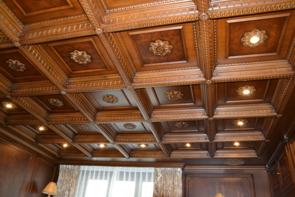 luxurious wooden ceiling genuine wood decks wood paneling