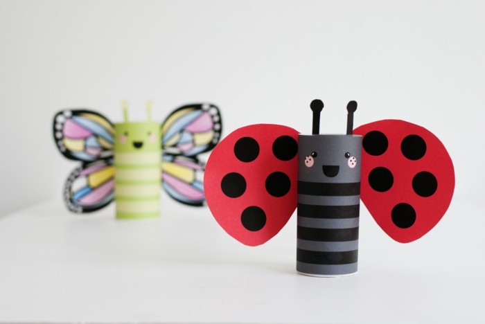tinkering with paper towels diy ideas decorating ideas with children beetle