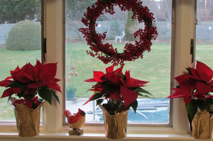 window decoration christmas febsterbank decor deco tips