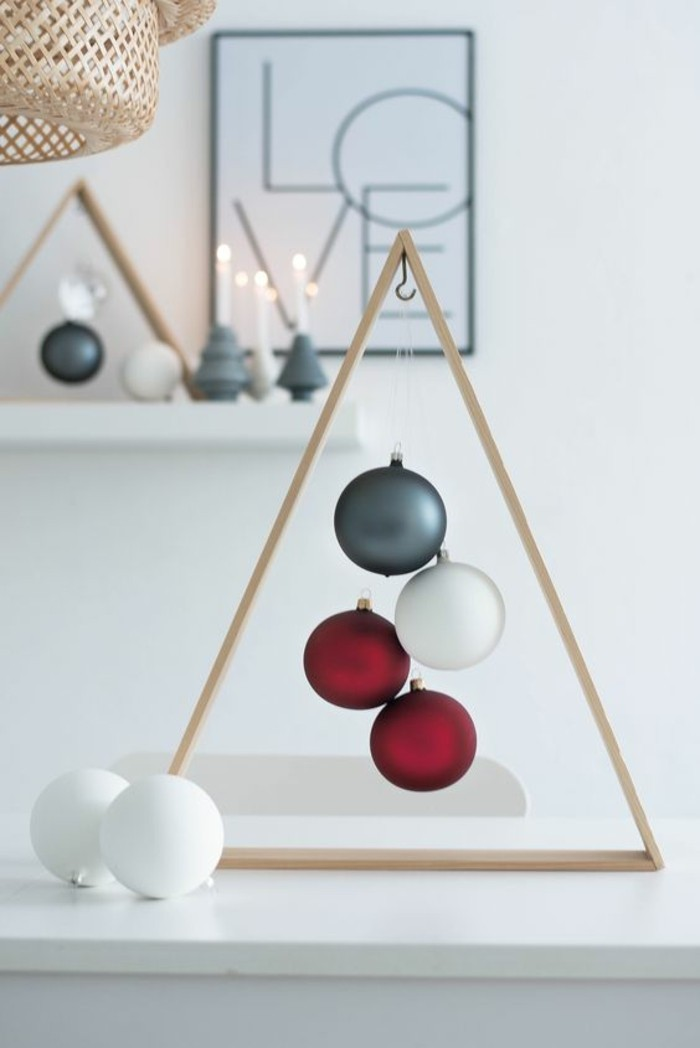 tinker Christmas geometric decoration ideas