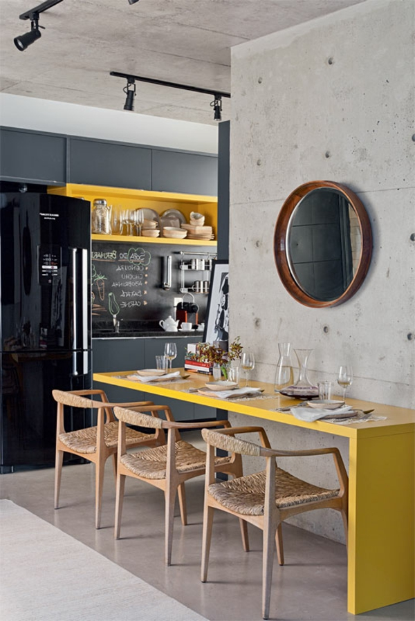closet kitchen yellow dining table inspirational chairs
