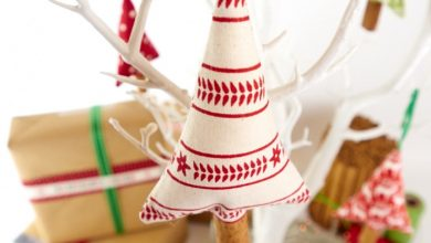 Photo of Christmas decorations in the Scandinavian style – 46 ideas how to decorate the home for Christmas