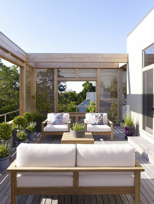 modern spacious terrace cool design ideas