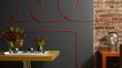Photo of Do it yourself Deco – original wall decoration with cables