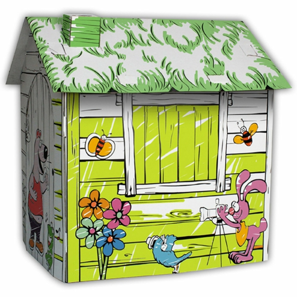 playhua for children playhouse cardboard