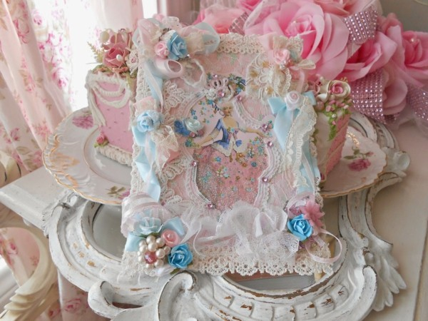 make birthday card tinker shabby chic deco yourself