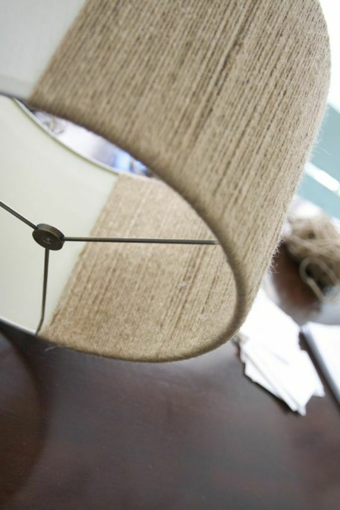 Reshape old lampshades