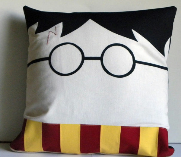 Creative Throw pillows and pillows harry potter