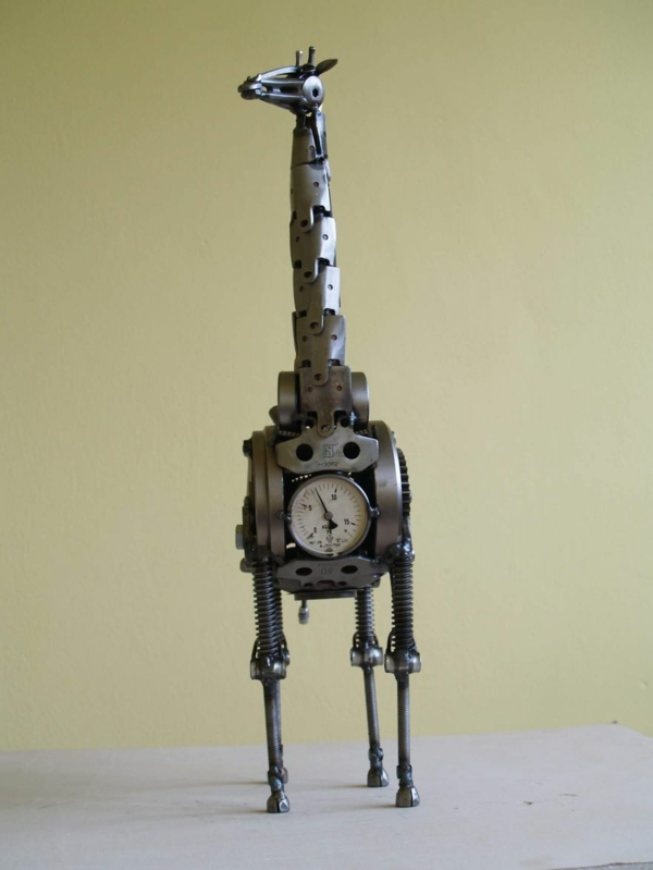 used motorcycle parts giraffe from the front