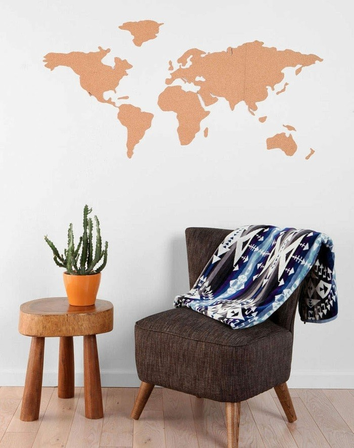Cool World Map Wall Image Gallery
