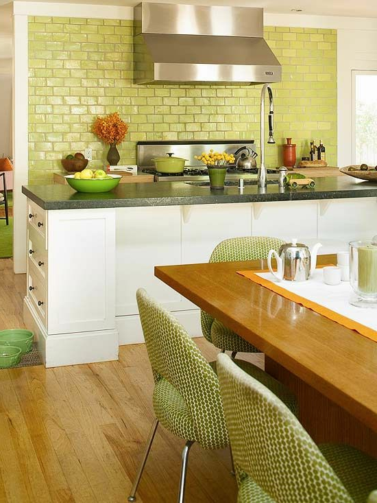 color ideas for kitchen green fresh kitchen back wall tiles