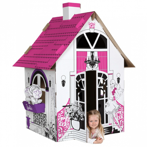 playhouse cardboard nursery decor