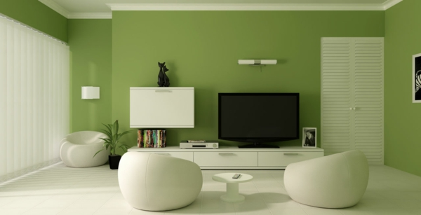 wall colors ideas in green