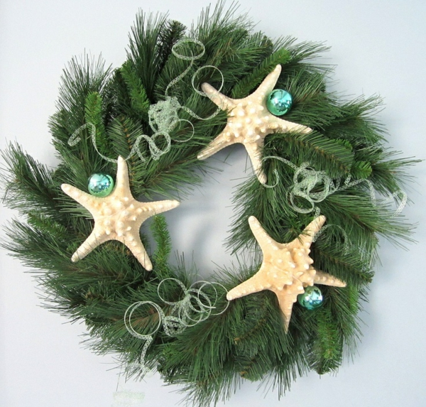 christmas decoration tropical style turquoise christmas
