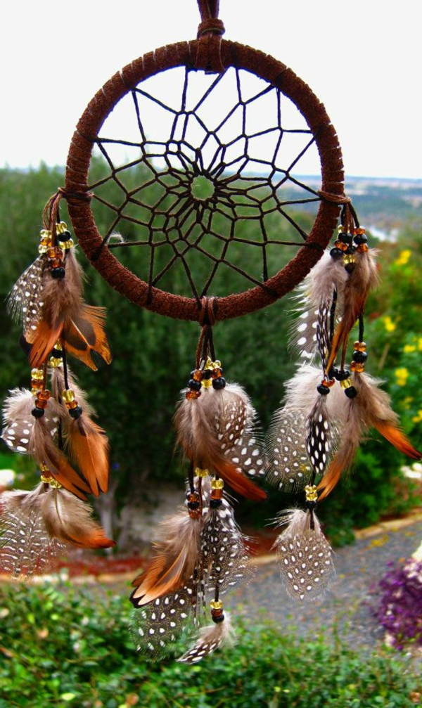 dream catcher make your own glass beads feathers